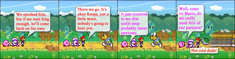 """Now that I think about it, the term: """"pull a Kirby"""" would actually apply to this situation much more than yesterday's..."""