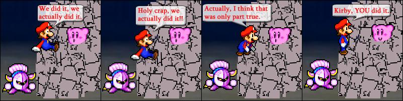 Kirby did it